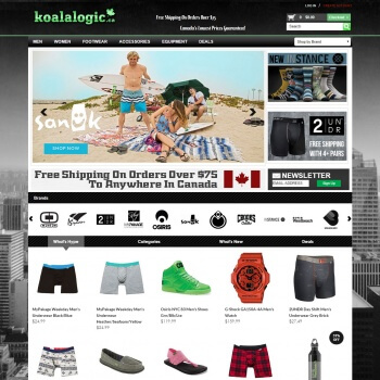 koalalogi.ca a shopify store which is developed by Shopify Developers team