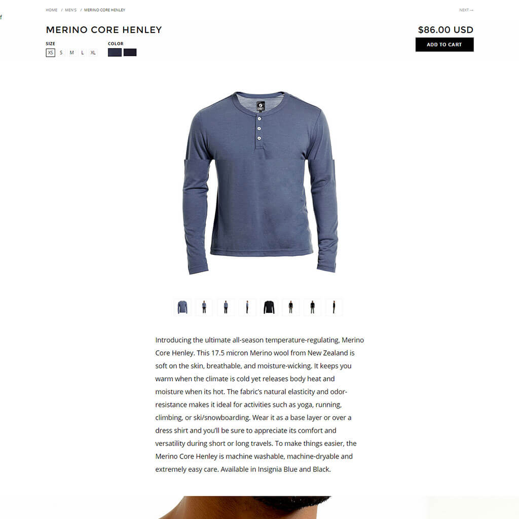 outerboro-shopify-design-product-details-page | Globo Software Solution