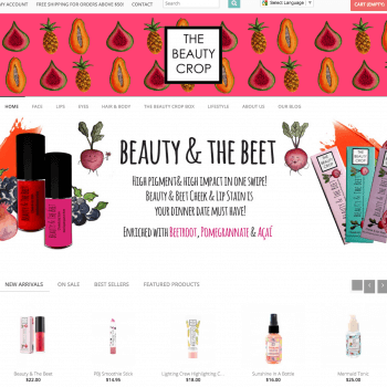 prestashop theme development -thebeautycrop